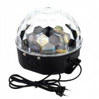 Crystal Magic Ball Disco LED 20W - White