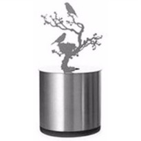 Lampu LED Proyeksi Bayangan Model Birds Nest - Silver