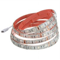 Lampu Led Strip 5050 RGB 16 Colors 2M with Remote Control - Multi-Color