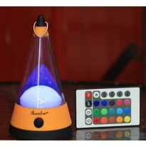 LED Infrared Remote Control Colorful Bar Lights - AA-SZD006 - Orange