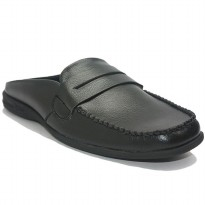 Dr. Kevin Men Bustong Sandals 871-026 - Black