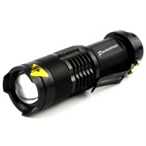 Pocketman Senter LED 2000 Lumens Waterproof - Black