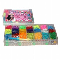 [BIG]DIY - Loom band Rubber band - BOX- Friendship 4200pcs