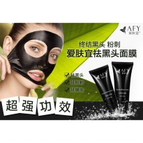 Aivoye Masker Wajah Black Cream Acne Pulling Mask 60g - Black