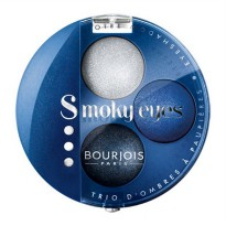 BOURJOIS SMOKY EYES TRIO EYESHADOW - 15 Bleu Nuit