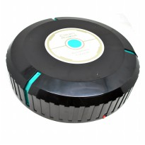 Auto Cleaner Robot Sweeping Cleaning Machine / Mesin Pembersih Debu - Black