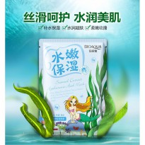 Bioaqua Masker Wajah Natural Extract 30g - Light Blue
