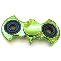 Batman Bar Fidget Spinner - Deep Green