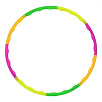 Child Removable Soft Hula Hoop 60 CM - Multi-Color