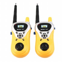 Ji Yuan Mainan Walkie Talkie 1 Pair - Yellow