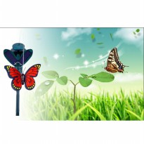 Mainan Solar Flying Butterfly Simulation - B1 - Yellow
