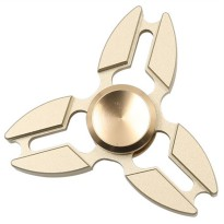 Sakura Metal Fidget Spinner - Golden