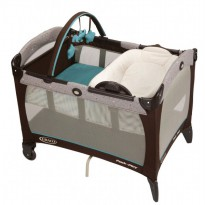 Graco Pack n Play with Reversible Napper & Changer - Scribbles