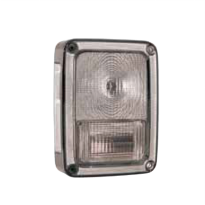 333-1945PTB-C STOP LAMP JEEP WRANGLER 207 (CLEAR)