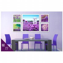 DIY Diamond Painting 5D. Lavender 5 In 1 120x60 Full DIamond D303