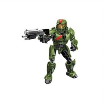 [poledit] Mega Bloks Megabloks Green Spartan (Red team) with Battle Rifle (T1)/11968081