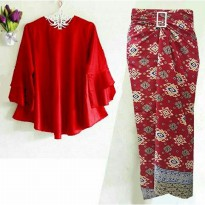 Set Trompy Rok lilit Red