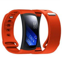 [poledit] Dreaman Luxury Silicone Watch Replacement Band Strap For Samsung Gear Fit 2 SM-R/14577208
