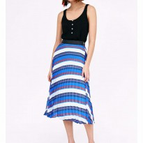 original zara skirt stripes