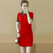 DRES WK GUCCI RED