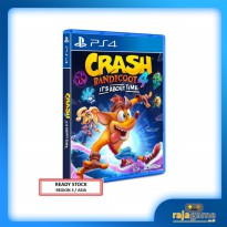 Crash Bandicoot 4 It's About Time Game PS4 (R3)