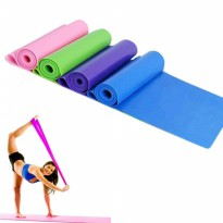 Elastic Karet Tension Resistance Stretch Band Gym Pilates Yoga +- 1.5M