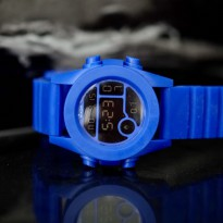 Jam Tangan Digital NIXON RUBBER DIGITAL BLUE