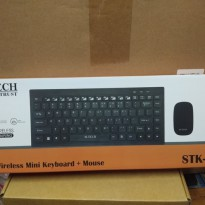 M-Tech STK Keyboard Wireless Mini Bundle