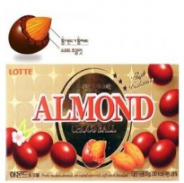 Lotte [see 1 box of chocolate almonds (42gx40 more) Sweet Sue Sweet crunchy chocolate almond cake through hjw