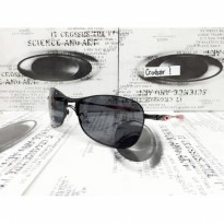 Jam Tangan Analog OAKLEY CROSSHAIR 1 KACA GREY\BROWN POLAROID
