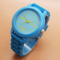 Jam Tangan Analog FORTUNER RUBBER ORIGINAL ANTI AIR BLUE
