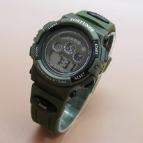 Jam Tangan Digital FORTUNER DIGITAL ORIGINAL ANTI AIR GREEN