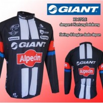Pakaian Sepeda Jersey sepeda Giant MLT XC - LS