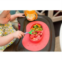 Piring Makan Anak NUBY Sure Grip Miracle Mat Silicone Section Plate