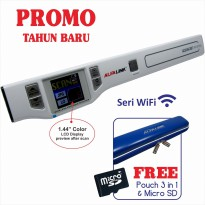 Scanner Portable ALFALINK AS-1213W [ seri Wi-Fi ] free pouch scanner 3 in 1