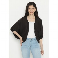 Mobile Power Ladies Cardigan Kntting - Cocoa D20195
