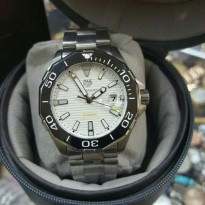 Tag Heue Aquaracer Cal 5 Automatic Silver White Dial