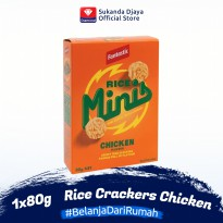 Fantastic Rice Mini Crackers Chicken 80 Gr