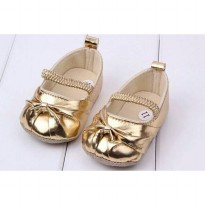 Prewalker Shoes Gold Termurah05