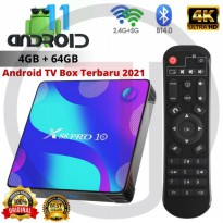 Android Tv Box X88 Pro 10 Android 11.0 RAM 4GB ROM 64GB