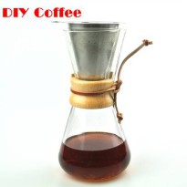 [globalbuy] NEW ARRIVAL Free Shipping 3 Cups Counted Chemex Style Syphon Coffee Drip Pot I/2898298