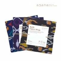 Fabric Wrap Navy Brown