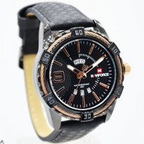 Jam Tangan Analog JAM TANGAN PRIA NAVIFORCE NF9117 TGL HARI ORI ANTI AIR BLACK ROSEGOLD