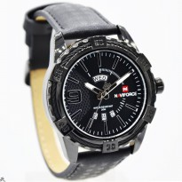 Jam Tangan Analog JAM TANGAN PRIA NAVIFORCE NF9117 TGL HARI ORI ANTI AIR BLACK