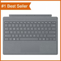 Microsoft Surface Type Cover Keyboard Signature - Platinum - [ For Surface pro 4 dan Surface pro 5 ]