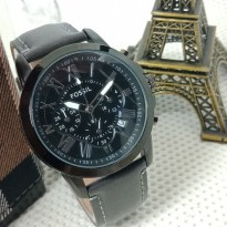 Jam Tangan Analog FOSSIL KULIT CHRONO ACTIVE BLACK