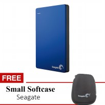 Seagate Hardisk External Backup Plus 1TB 2.5' BIRU