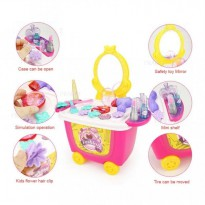 Dresser Table Fashion 21Pcs 8230CB - Mainan Alat Make Anak - Ages3+