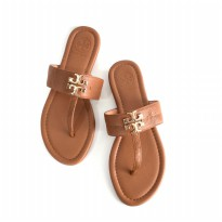 Sandal Wanita Original TB Flat Sandals - Brown