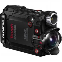 Olympus Stylus Tough TG-Tracker Action Camera - Hitam